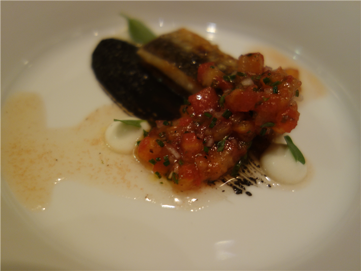 sardines and tomatoes (hot serving)